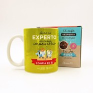 Dios es experto, Taza, Coleccion Comparte  (God Is An Expert, Mug, Share Collection, Spanish)