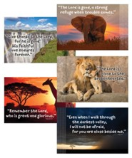 Roar: Bible Verse Posters (set of 5)