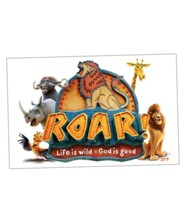 Roar: Iron-On Transfer (pkg. of 10)