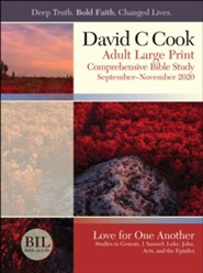 Bible-in-Life: Adult Large Print Student Book, Fall 2020