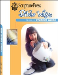 Scripture Press: Primary Grades 1 & 2 Bible Ways Student Book, Fall 2020