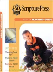 Scripture Press: Middler Grades 3-4 Teaching Guide, Fall 2018