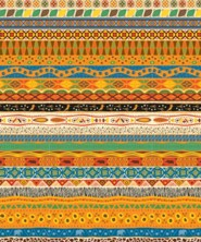 Roar: African Pattern Plastic Backdrop (30 ft. x 4 ft.)
