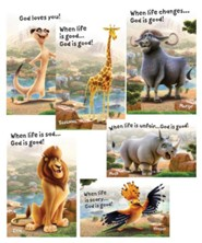 Roar: Bible Point Posters (set of 6)