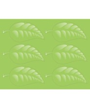 Roar/Athens: Operation Kid-to-Kid Living Leaves Stickers (pkg. of 96)