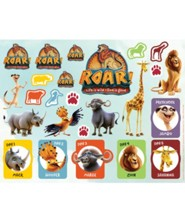 Roar: Sticker Sheets (10 sheets)