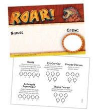 Roar: Name Badge (pkg. 10)