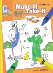 Bible-in-Life: Preschool Make It Take It (Craft Book), Fall 2018