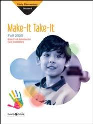 Bible-in-Life: Early Elementary Make It Take It (Craft Book), Fall 2020
