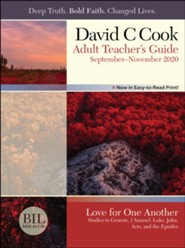 Bible-in-Life: Adult Teacher's Guide, Fall 2020
