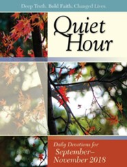 Bible-in-Life: The Quiet Hour (Devotional Guide), Fall 2018