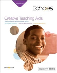Echoes: Middle School Creative Teaching Aids, Fall 2018