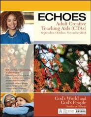 Echoes: Adult Creative Teaching Aids, Fall 2018