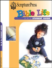 Scripture Press: 2s & 3s Bible Life Student Book, Fall 2020