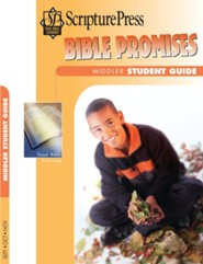 Scripture Press: Middler Grades 3 & 4 Bible Promises Student Book, Fall 2020