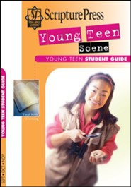 Scripture Press: Young Teen 'Teen Scene' Student Book, Fall 2020