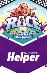 The Incredible Race: Helper Handbook (pkg. of 10)
