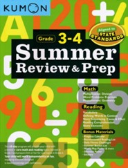 Summer Review & Prep, Grade 3-4