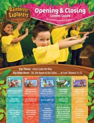 Rainforest Explorers: Opening & Closing Leader Guide