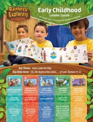 Rainforest Explorers: Early Childhood Leader Guide