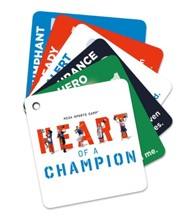 MEGA Sports Camp Heart of a Champion: Theme Keepers (enough for 5 kids)