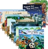 Simply Loved: Bible Story Poster Pack (pkg. of 12)