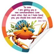 Simply Loved: Bible Memory Sticker Pack, Buddy 3