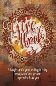 Give Thanks (50-Pack)