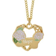 Heart Pendant, Hope