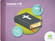 Answers Bible Curriculum PreK-1 Unit 1 Flip Chart (2nd Edition)
