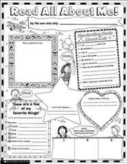 Instant Personal Poster Sets: Read All About Me!  Grades K-2