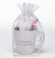 Precious and Dearly Loved, Mug, Pen and Notepad Gift Set, Spanish