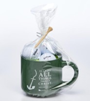 I Can Do All Things, Mug and Golf Ball Gift Set