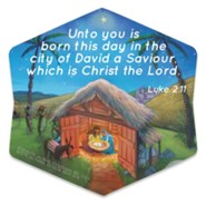 Christ the Savior is Born Magnet