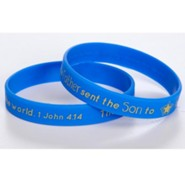 Christ the Savior is Born Silicone Bracelet
