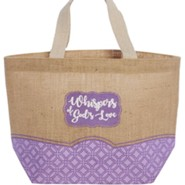 Whispers of God's Love Tote Bag, KJV