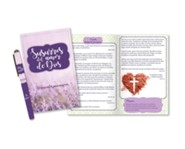Susurros del amor de Dios, juego de libro devocional y pluma  (Whispers of God's Love Devotion Book and Pen Set, Spanish)