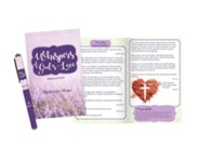Whispers of God's Love Devotion Book and Pen Set, KJV