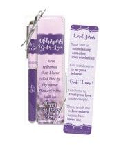 Whispers of God's Love Mother's Day Bookmark and Pen Gift Set, KJV