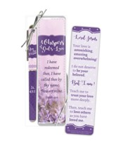 Whispers of God's Love Bookmark and Pen Gift Set, KJV