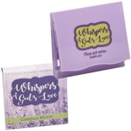 Whispers of God's Love Compact Mirror, KJV