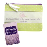 Whispers of God's Love Zippered Coin Purse With Pocket Card, KJV