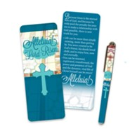 Alleluia Pen & Jumbo Bookmark Set