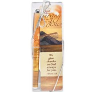 1 Thessalonians 1:2, Pen and Bookmark Gift Set