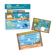 Paul's Shipwreck Activity Card and Sticker Sheet