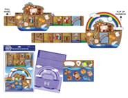Build Your Own Ark Activity Card with Stickers