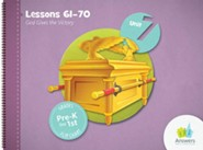 Answers Bible Curriculum PreK-1 Unit 7 Flip Chart (2nd Edition)