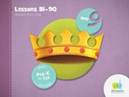 Answers Bible Curriculum PreK-1 Unit 9 Flip Chart (2nd Edition)
