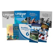 Abeka Grade 6 Homeschool Child Language Arts Kit