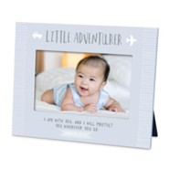 Little Adventurer Photo Frame, Blue